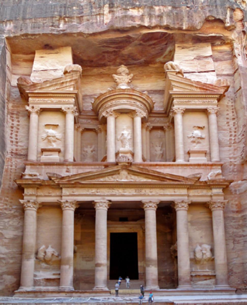 """The Treasury"" - Photo & Permission via Wikipedia Commons by Bernard Gagnon"