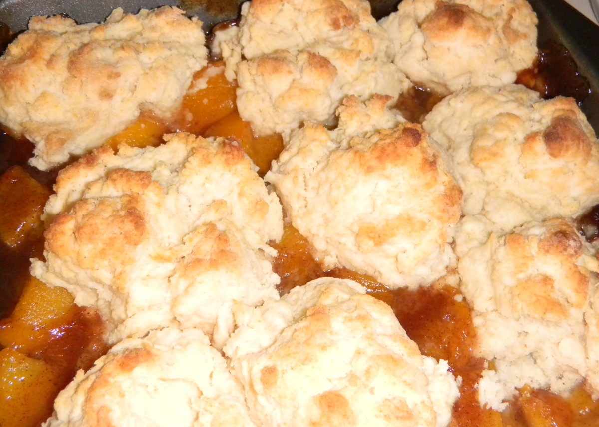 Dessert Comfort Food: Peach Cobbler Recipe