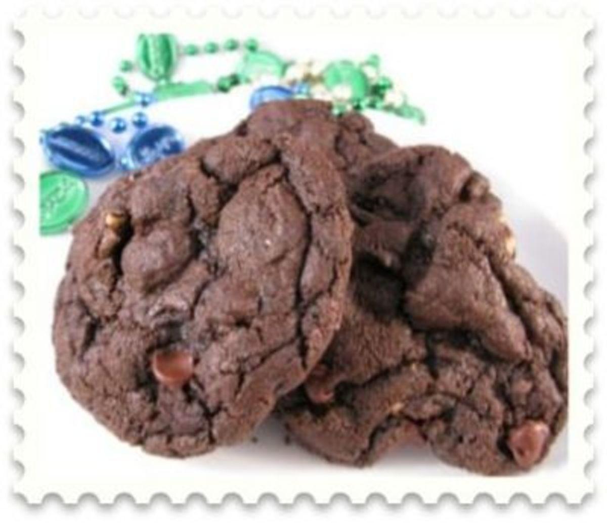 mocha walnut cookies