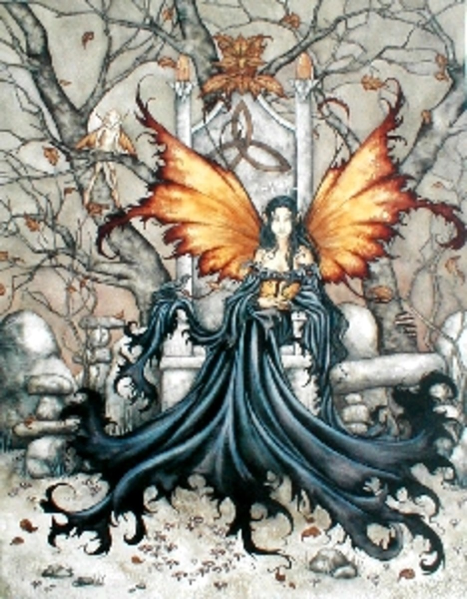 AMY BROWN is an amazing artist, and was the one who started me thinking about fairy stories