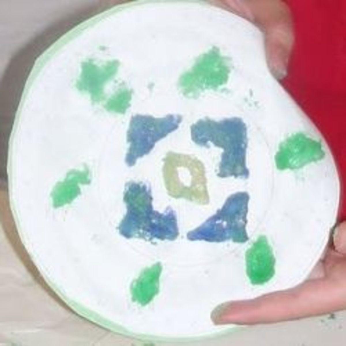 Navajo Sand Painting Craft Activity