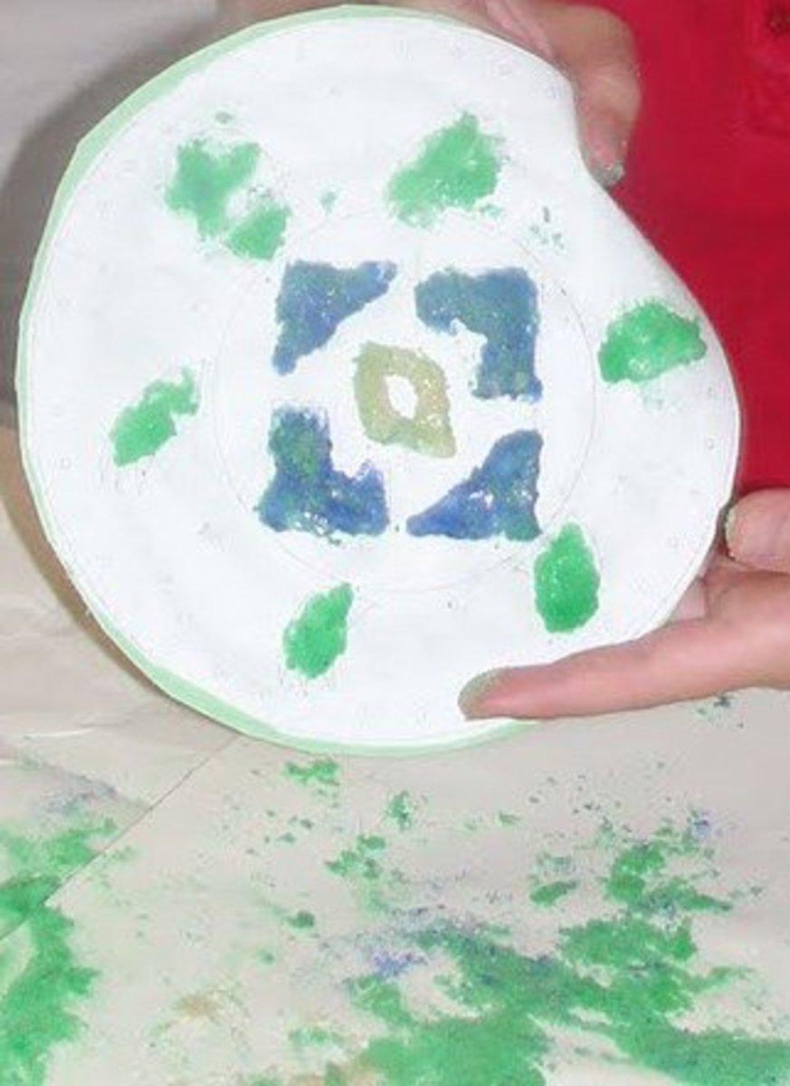 Navajo Sand Painting Art Activity