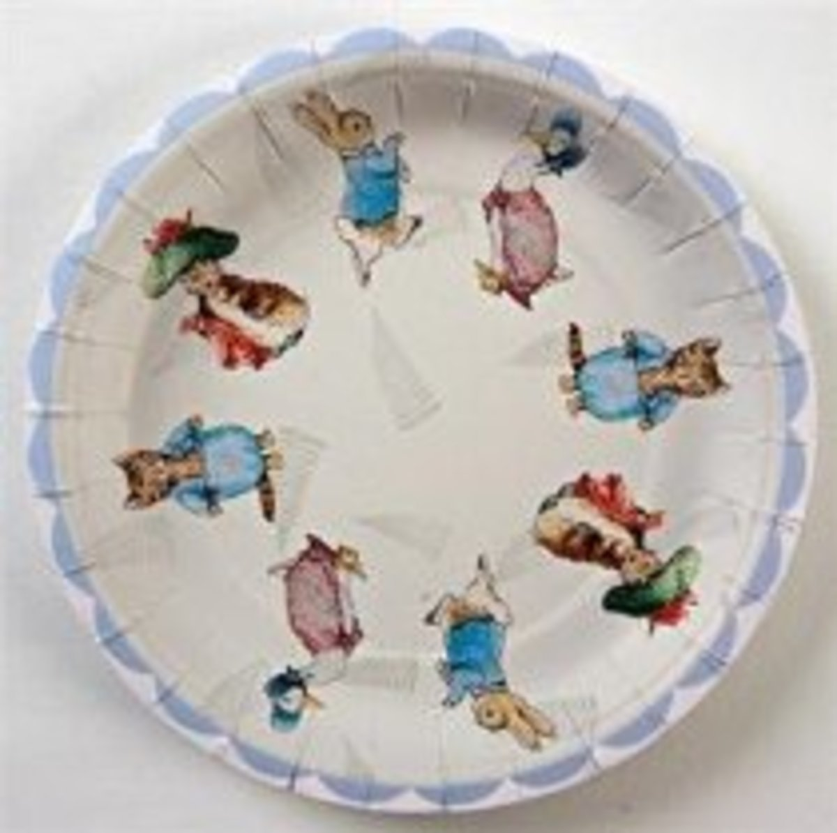 Peter Rabbit Paper Plates - Small