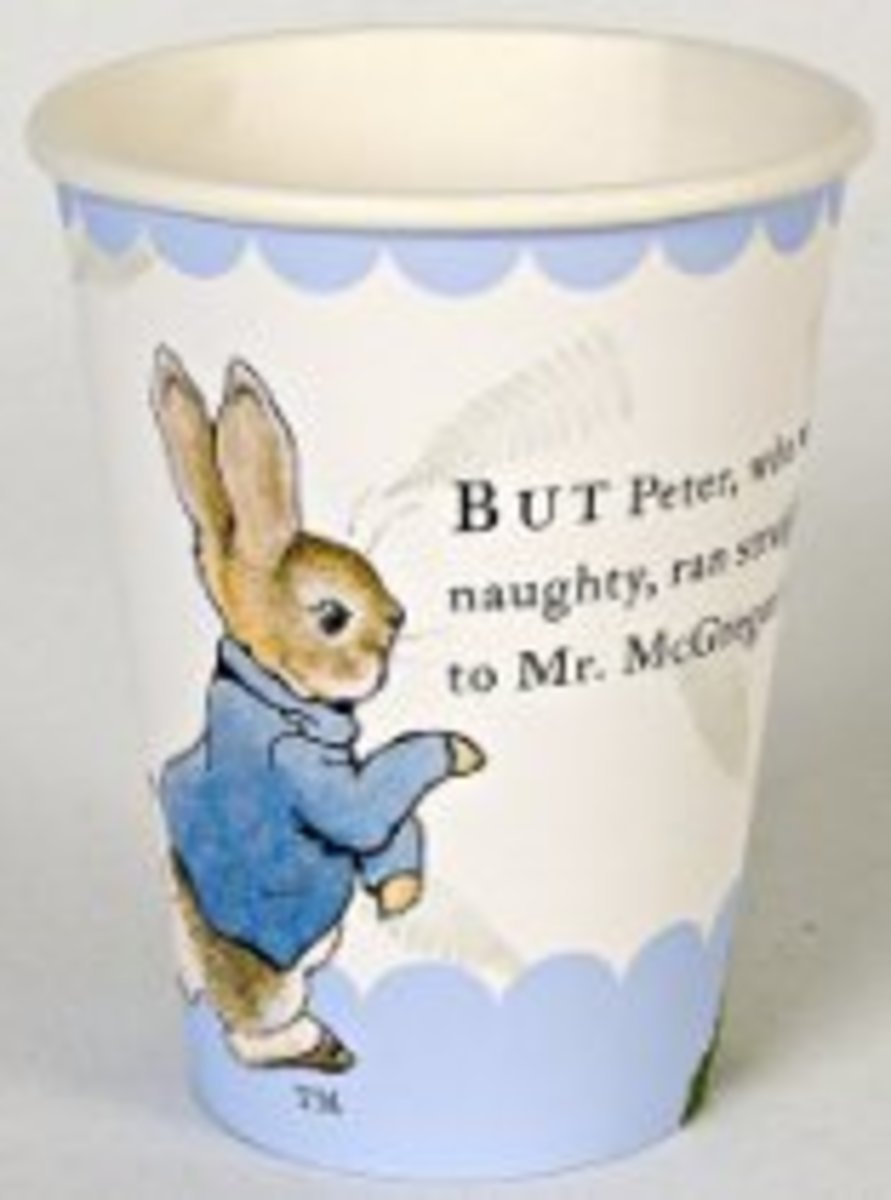 Peter Rabbit Party Cup