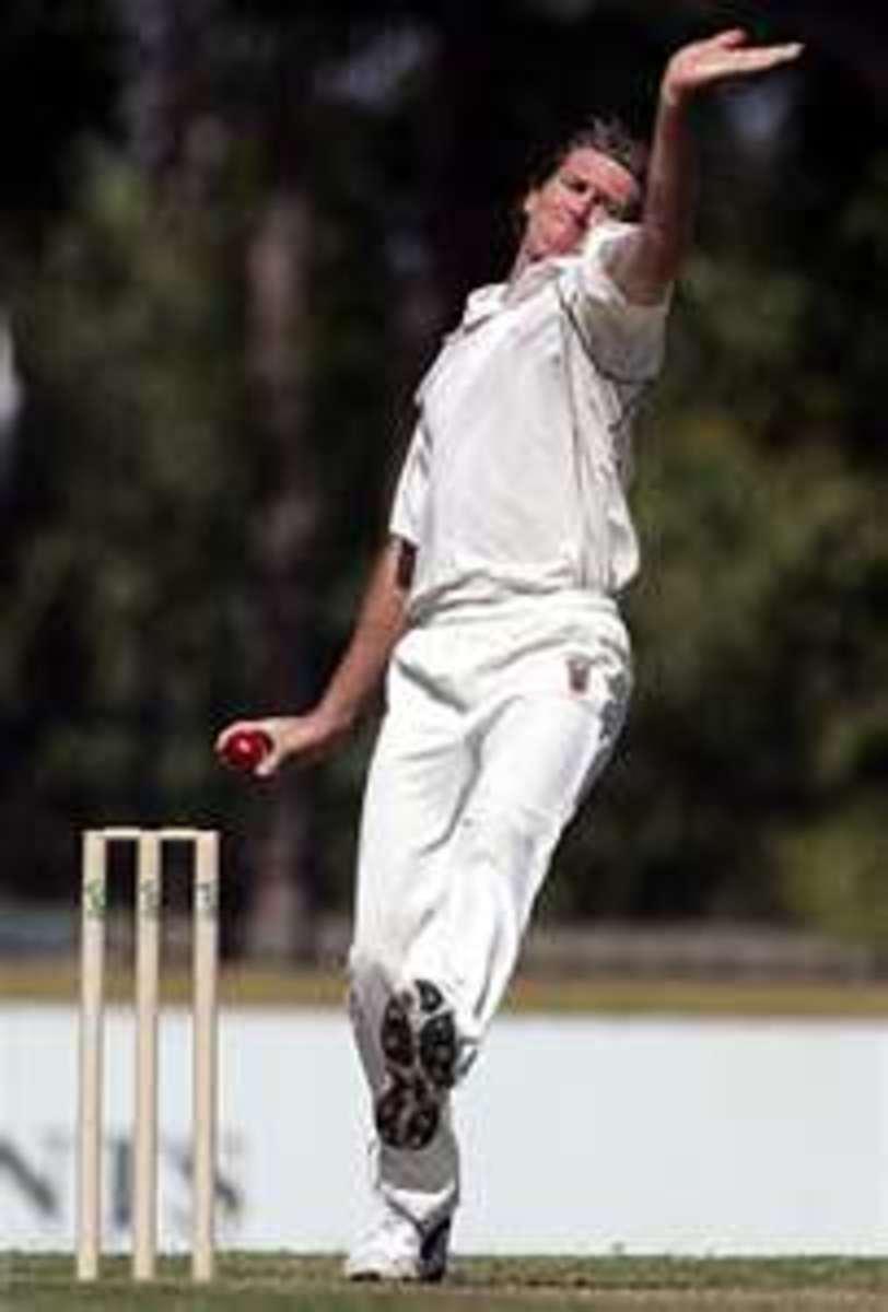 Glenn McGrath in action