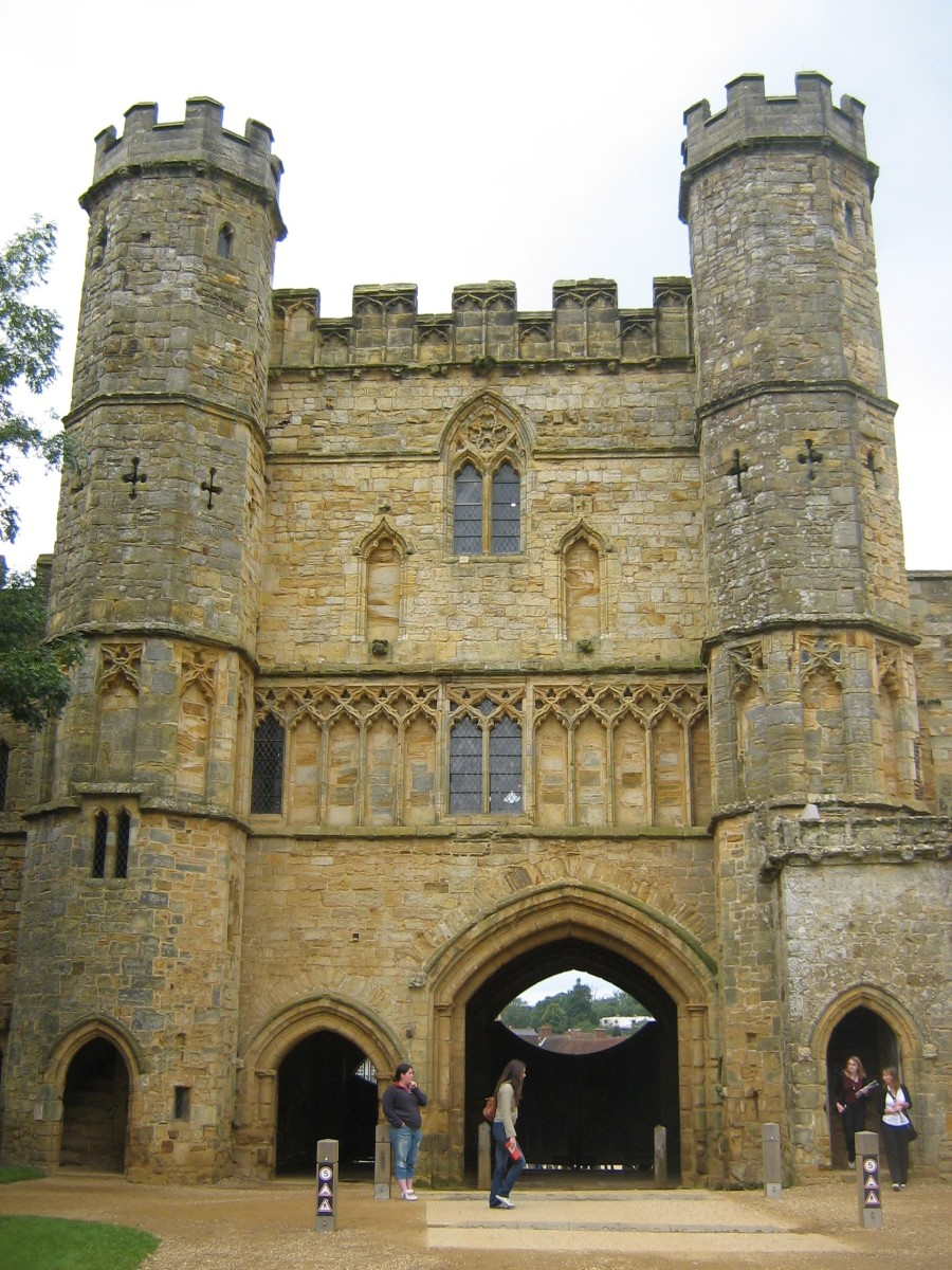 The Gate House at Battle Abbey