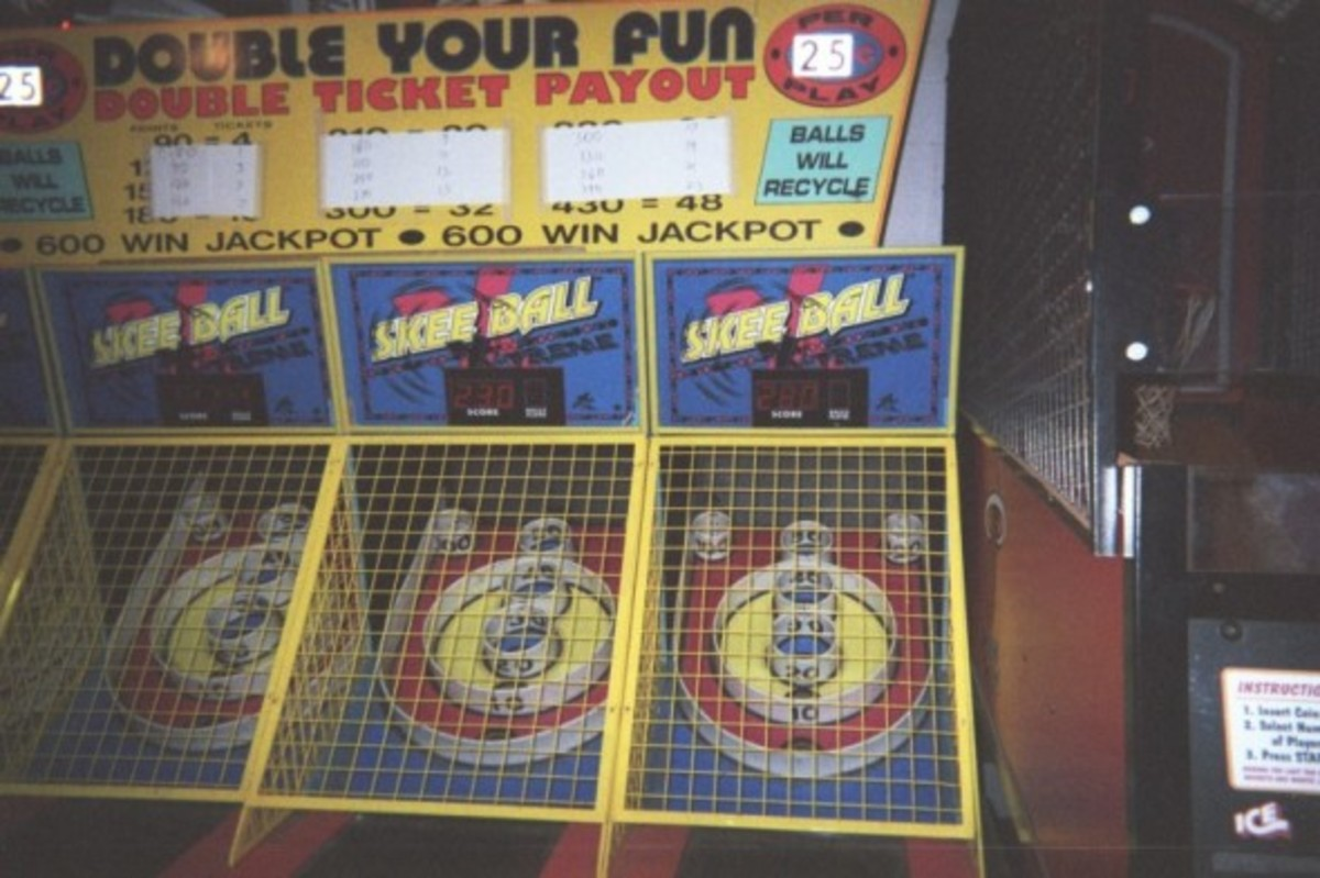 Skeeball in Ocean City, MD
