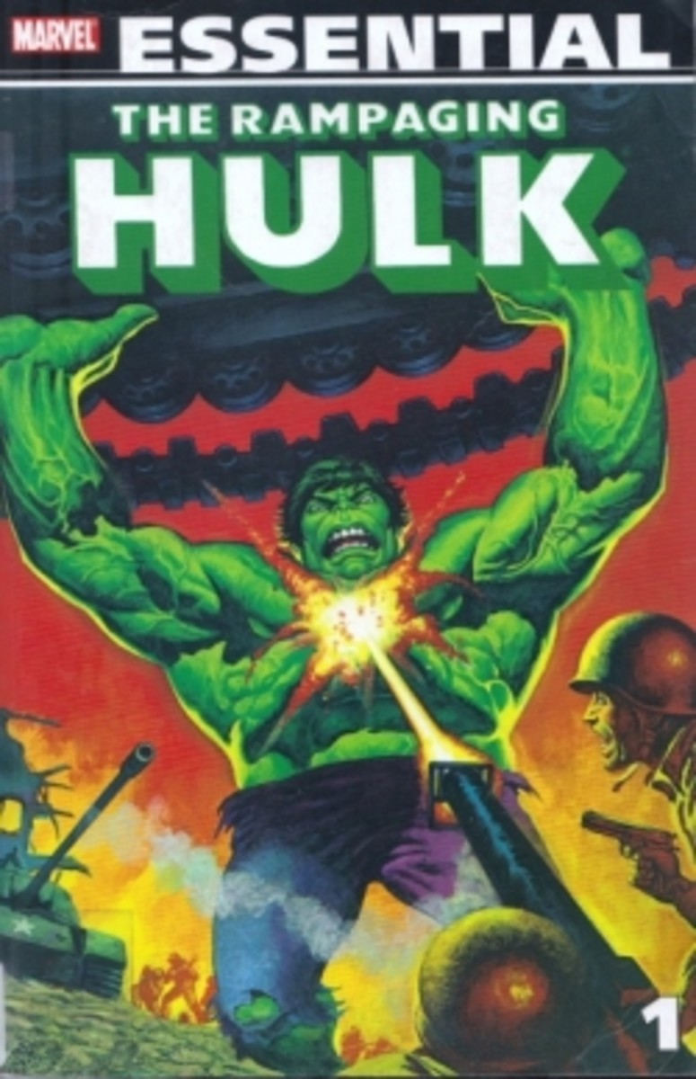 Hulk in the 1970s! The Rampaging Hulk Marvel Essential Comic Book Review
