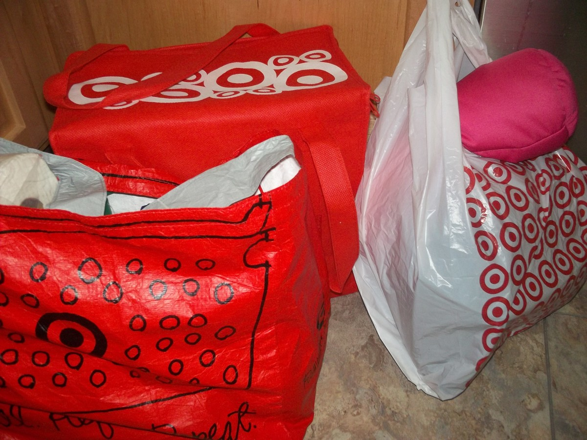 When you run out of suitcases and grab the Target bags, you've packed too much.