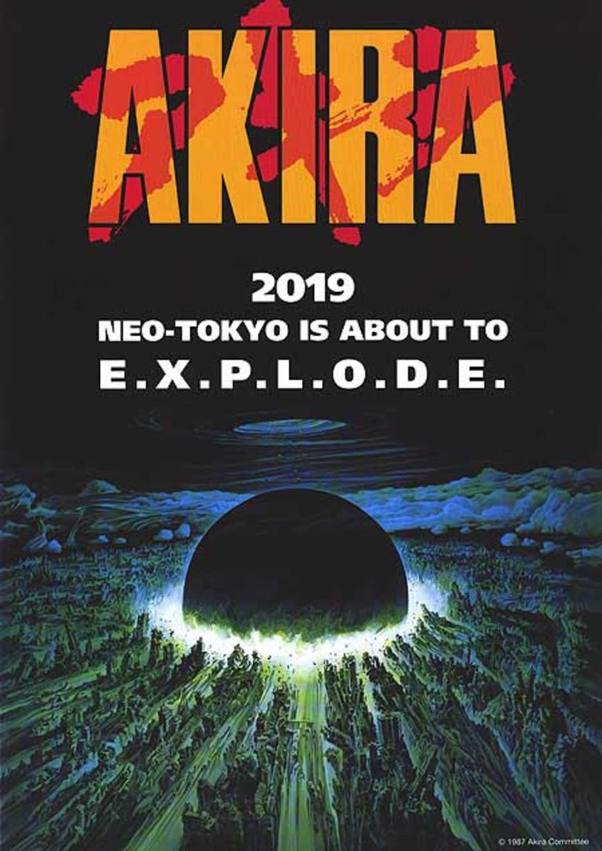 Akira (1988) - Neo-Tokyo is about to EXPLODE!