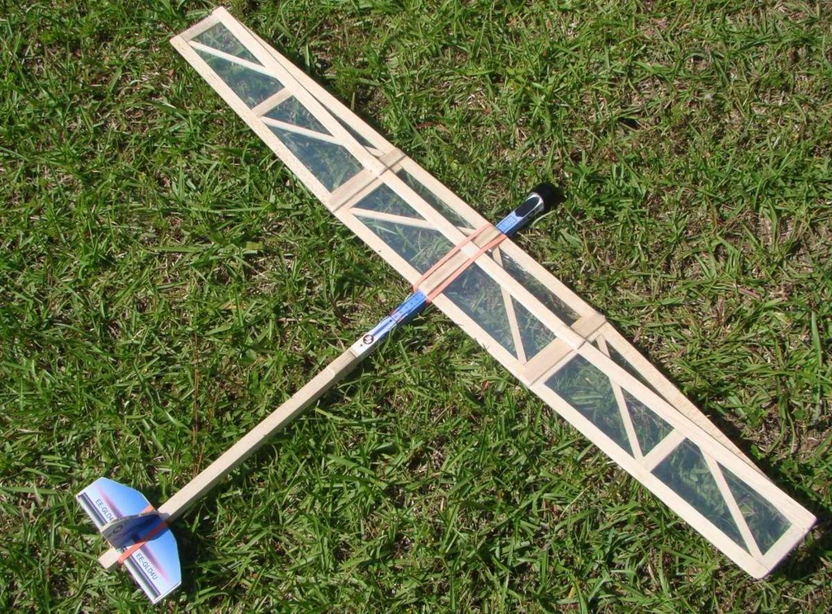 My son's glider