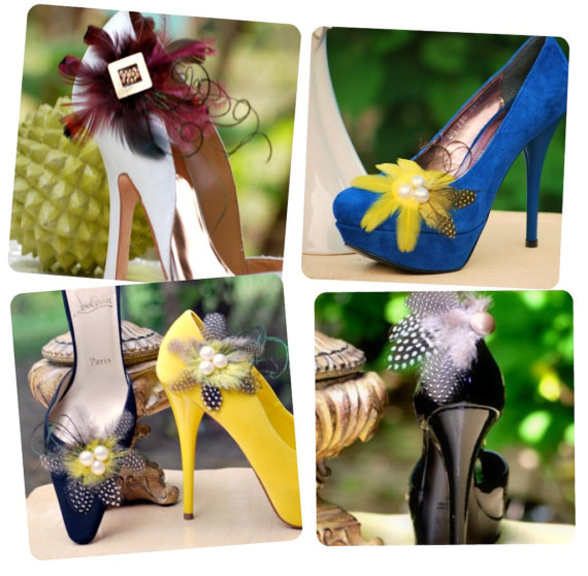 Shoe Clips - fit for the fashionista