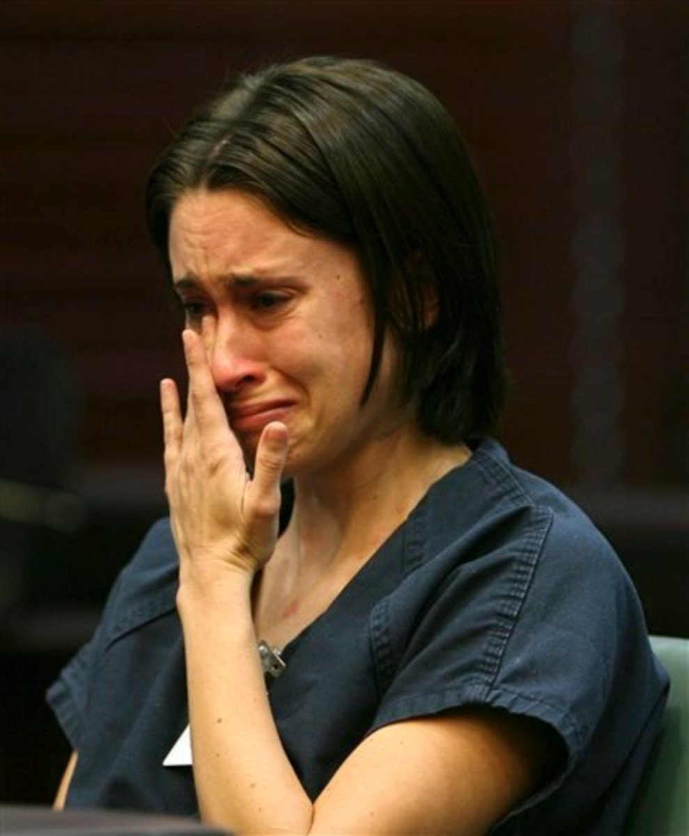 "An ""upset"" Casey Anthony"