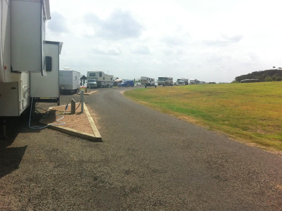 Westcliff RV Camping sites - Lake Belton TX