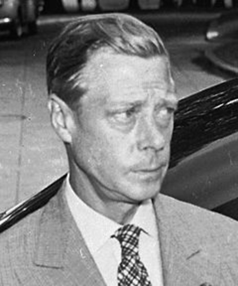 King Edward VIII- The Duke of Windsor