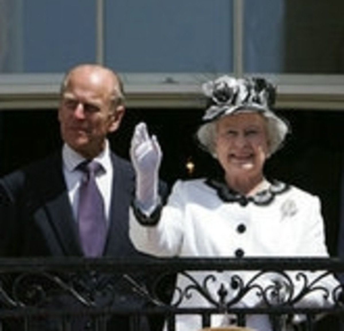 The Queen and Prince Phillip taken in 2002