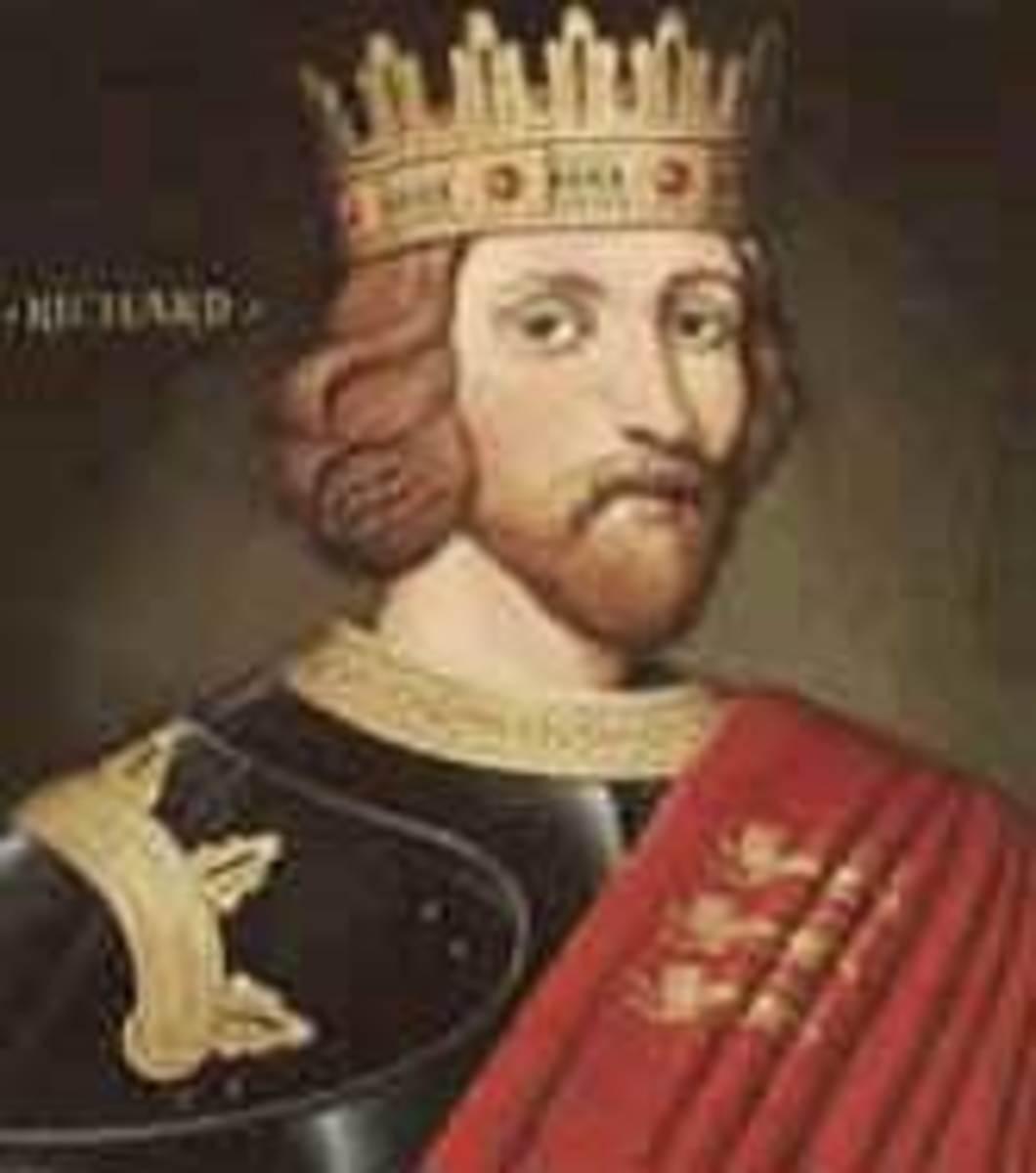 Richard I, Richard the Lionheart, King of England (1189-1199)