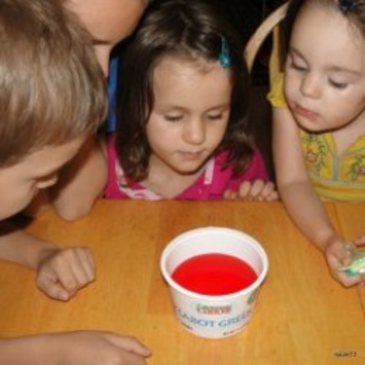 Observing a chemical reaction