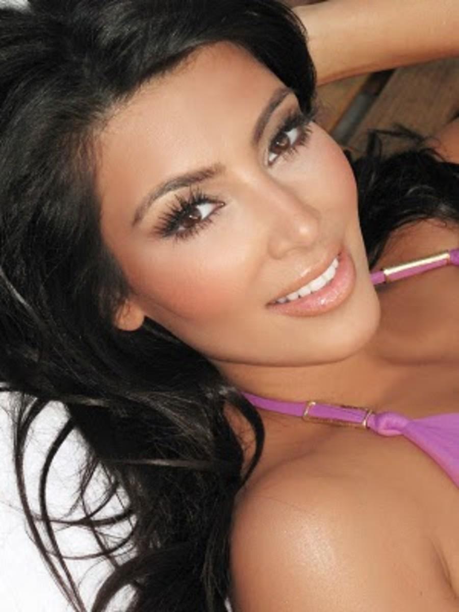 Kim Kardashian Makeup Tips Organizer