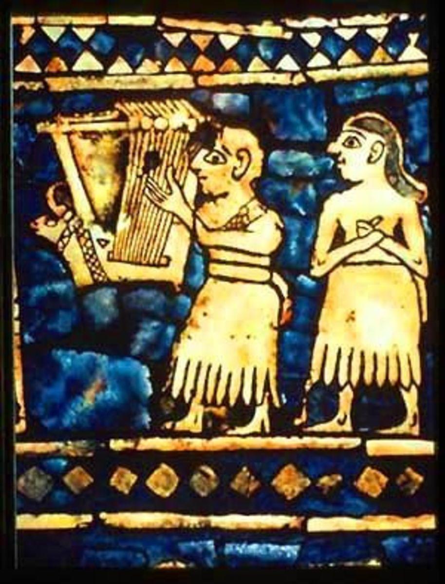 Sumerian Lyre