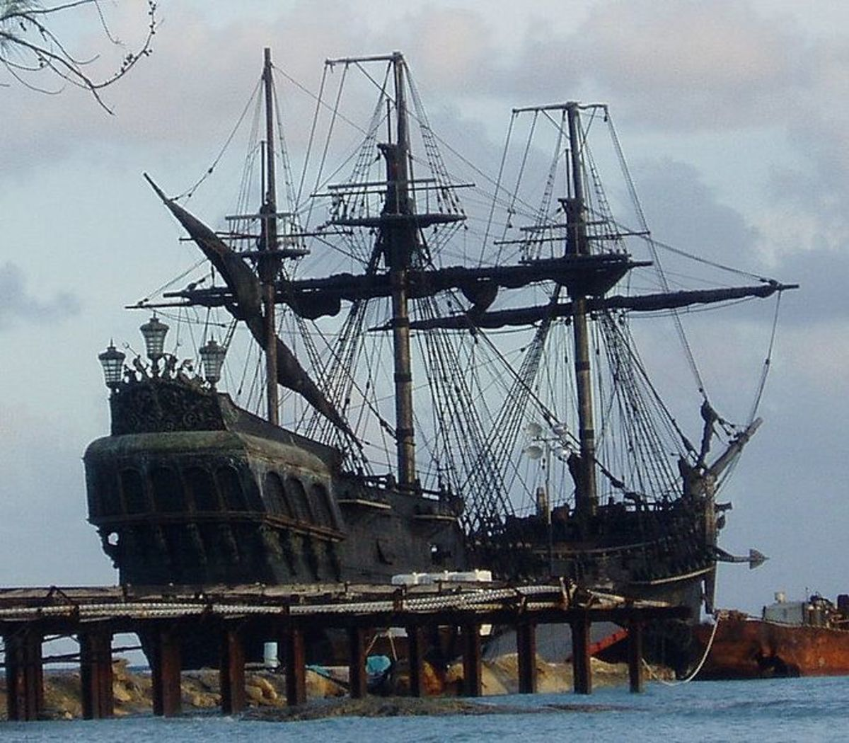 Black Pearl Pirate Ship on location