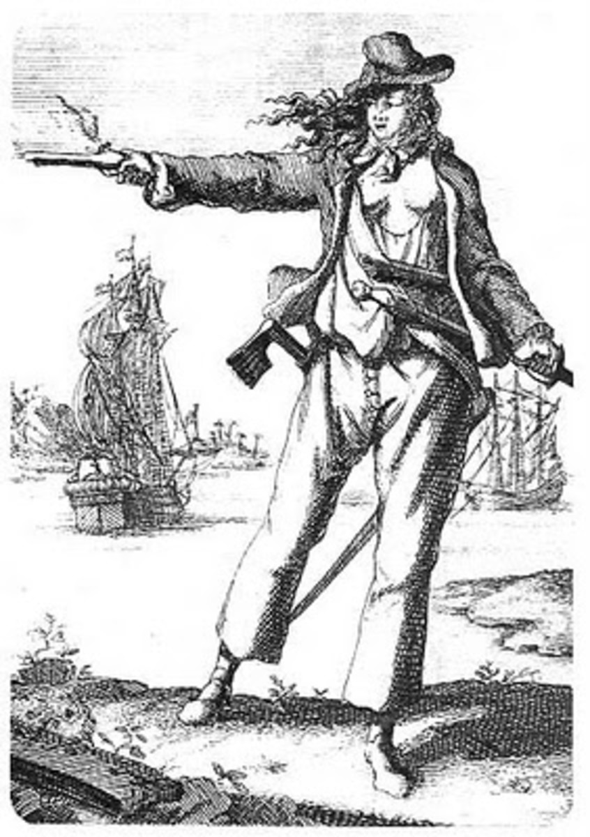 Kids Pirates Coloring Pages Free Colouring Pictures to Print -  Female Pirate Anne Bonny