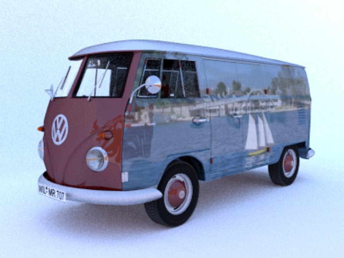 Makesweet.com Volkswagon Van