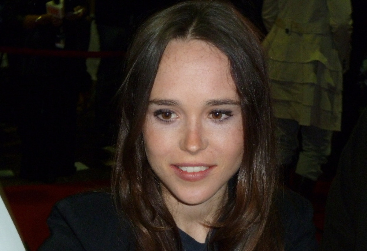 Ellen Page at the Toronto Film Festival 2010