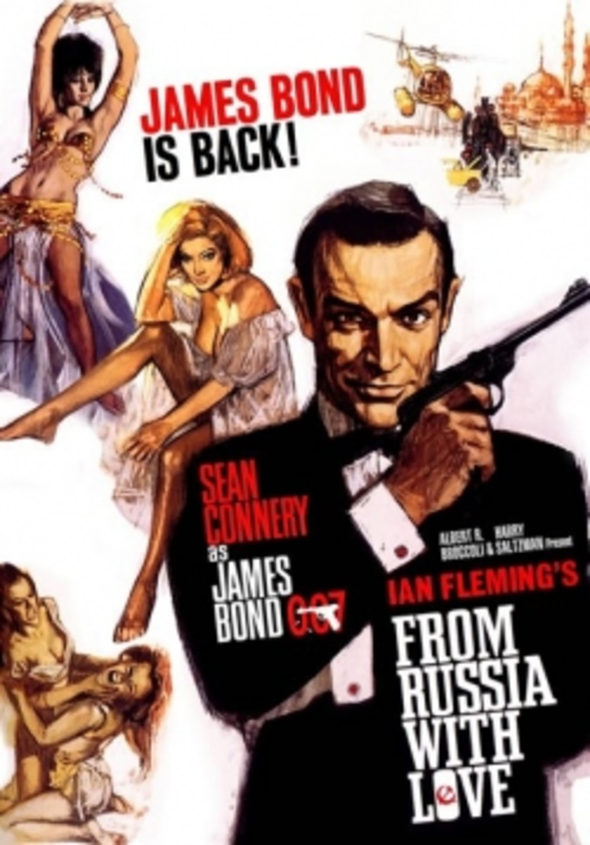 As witnessed by the movie poster, belly dancing has a bit part in this Spy thriller.
