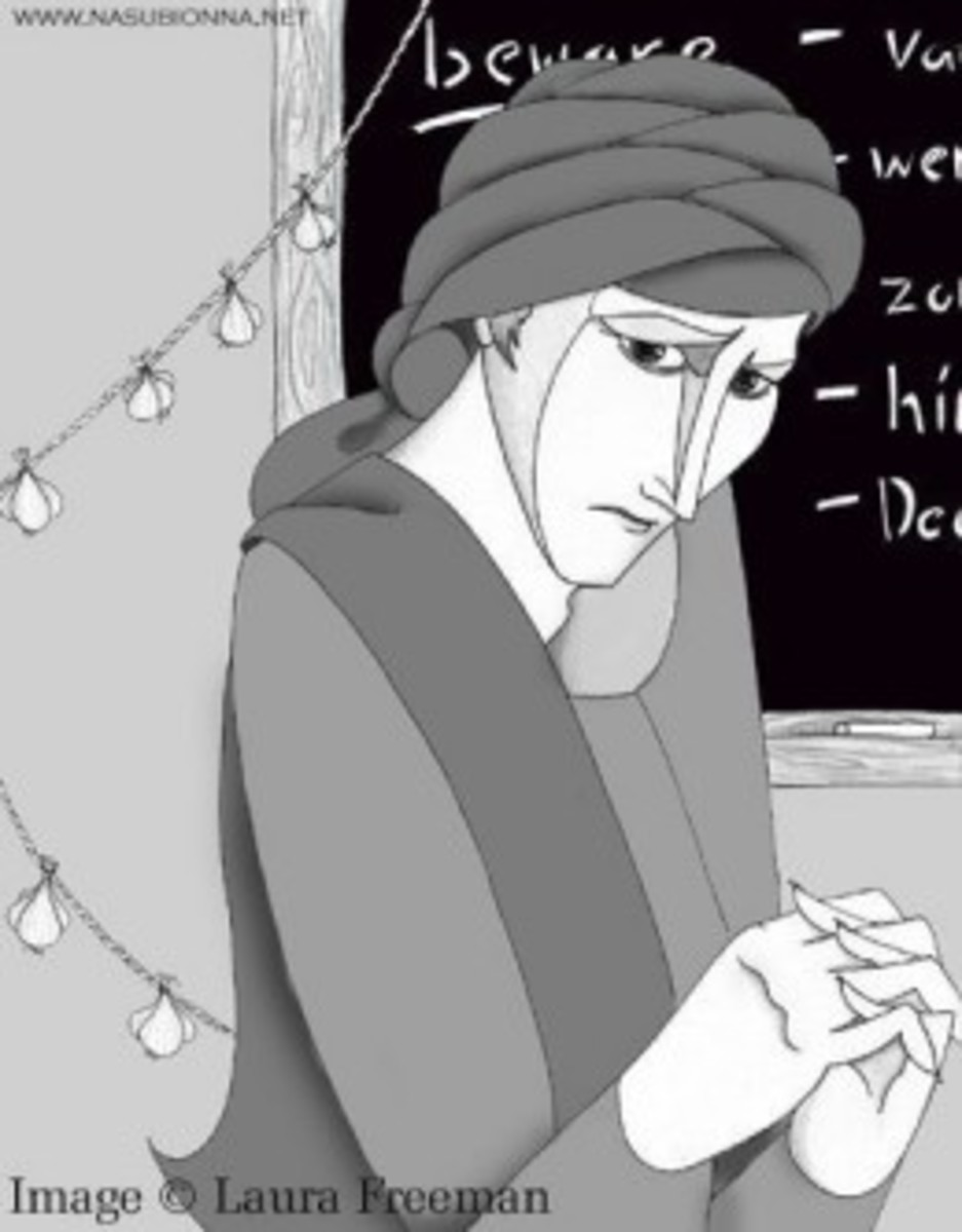I love the stark quality of this artwork - it somehow conveys the shallowness of Quirrell.