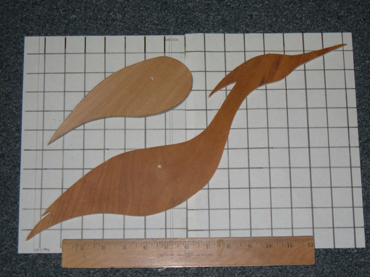Heron Decoy Pattern #1