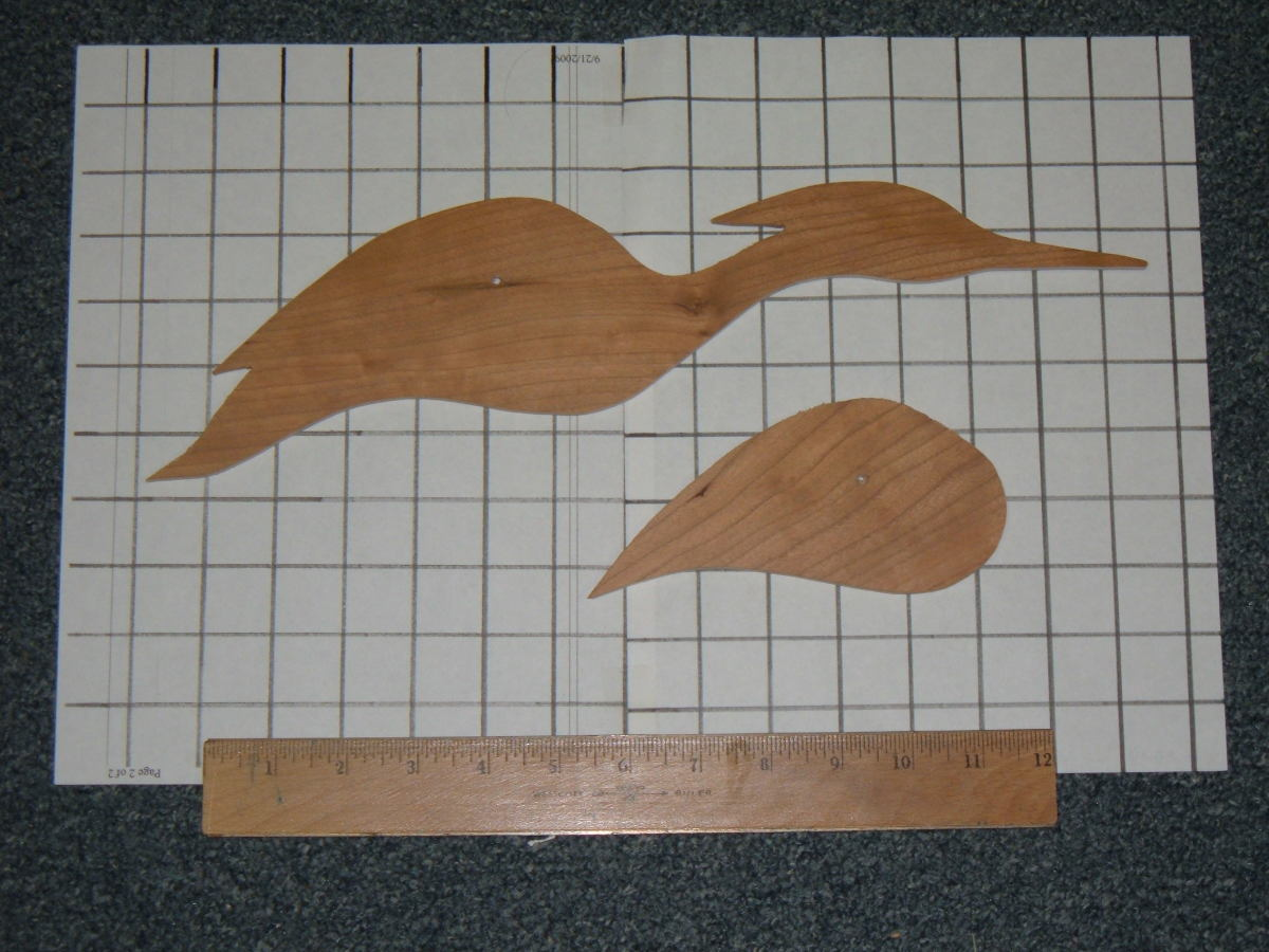 Egret Decoy Pattern