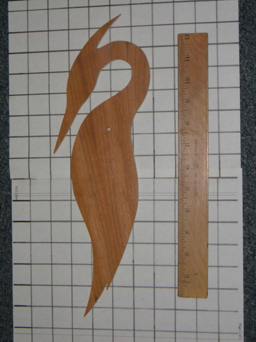 Heron Decoy Pattern #2