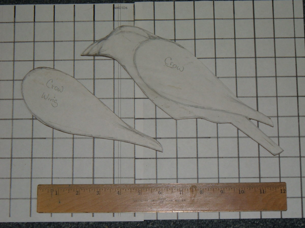 Crow Decoy Pattern
