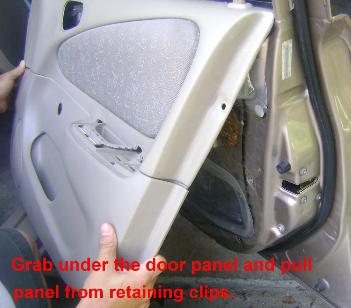 Toyota Corolla Chevrolet Prism Door Handle Replacement