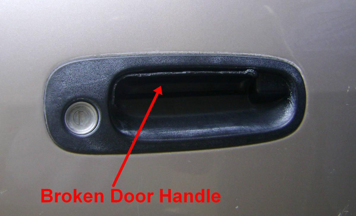 Toyota Corolla Chevrolet Prism Door Handle Replacement Exterior