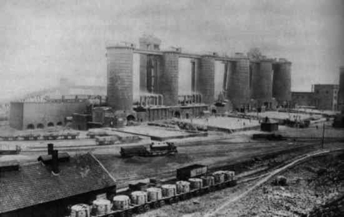 Clay Lane Steel Works, Lackenby 1884
