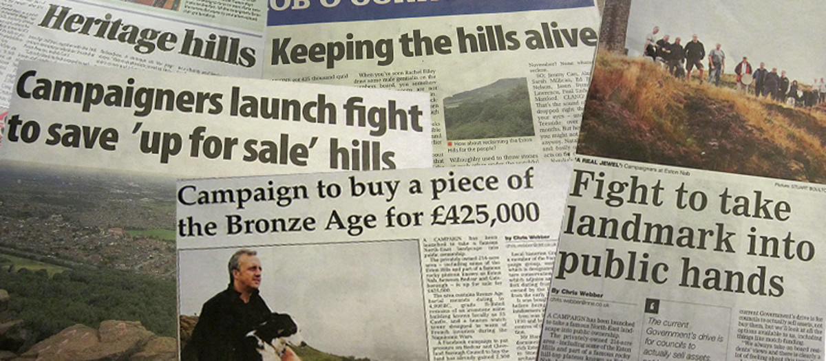 Some of the press coverage, from the local papers, EVENING GAZETTE and STOCKTON TIMES as well as the NORTHERN ECHO