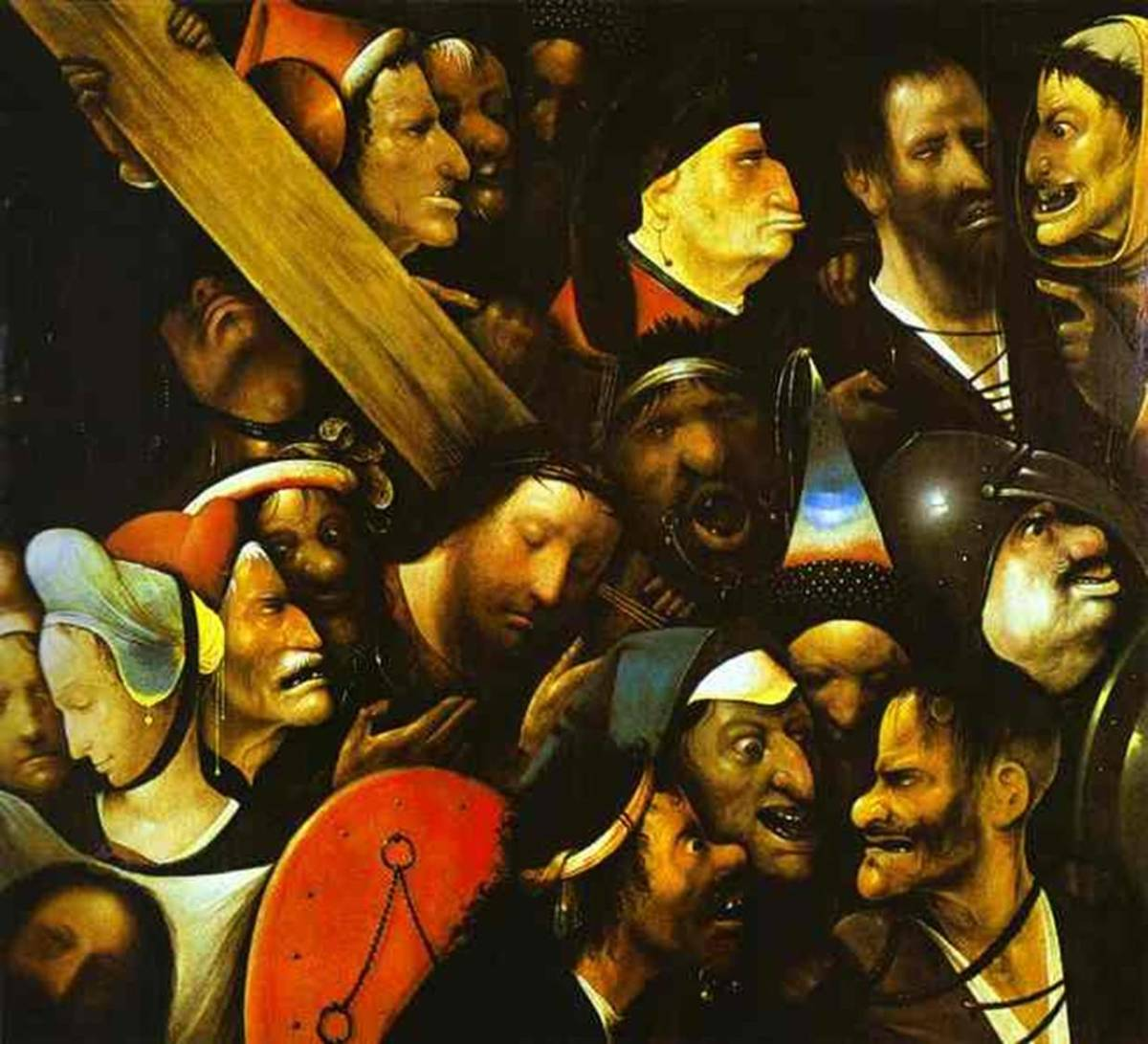 Christ Carrying the Cross, Hieronymus Bosch (1450-1516)