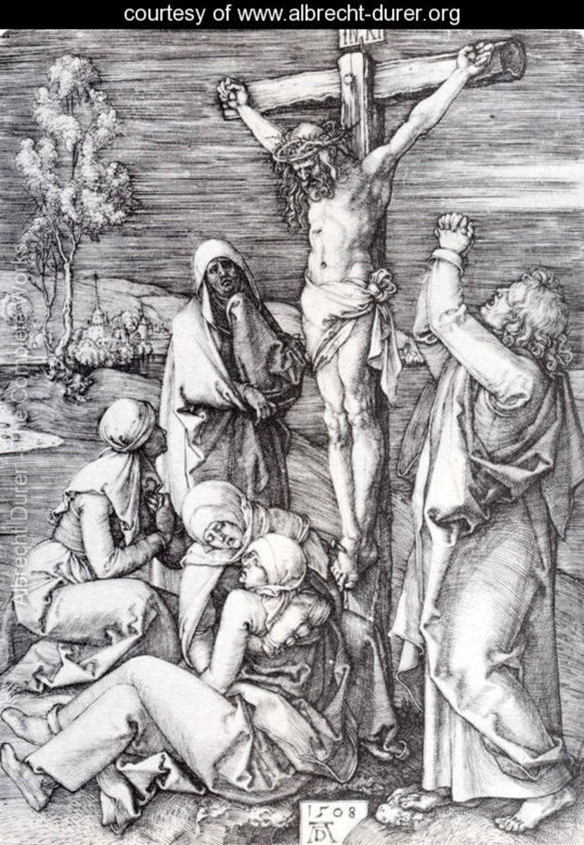Crucifixion, Albrecht Durer (1471-1528)