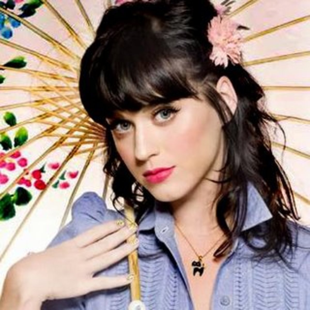1. Katy Perry. I really like her. She's very pretty and flexible in any role she took.
