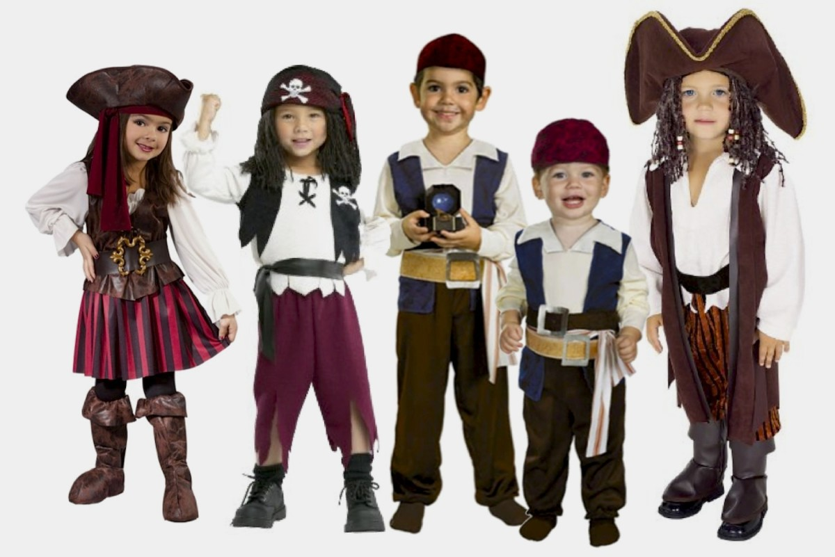 The Smallest, Cutest Pirate Costumes are Described Below