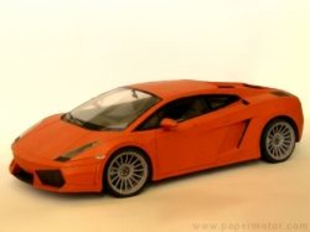 Gallardo - Paper Car Project