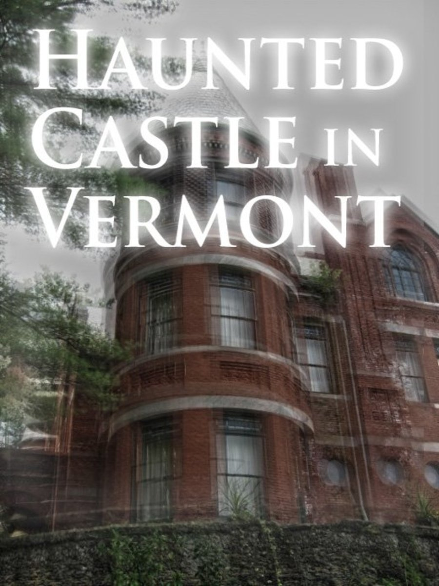 Haunted castle in Proctor, Vermont