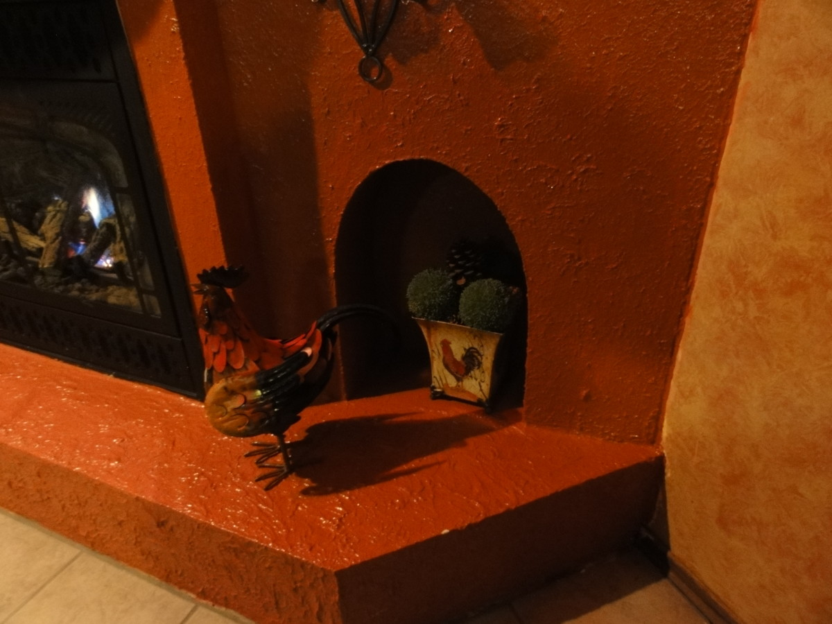 to build a spanish adobe fireplace grotto and create your own spanish