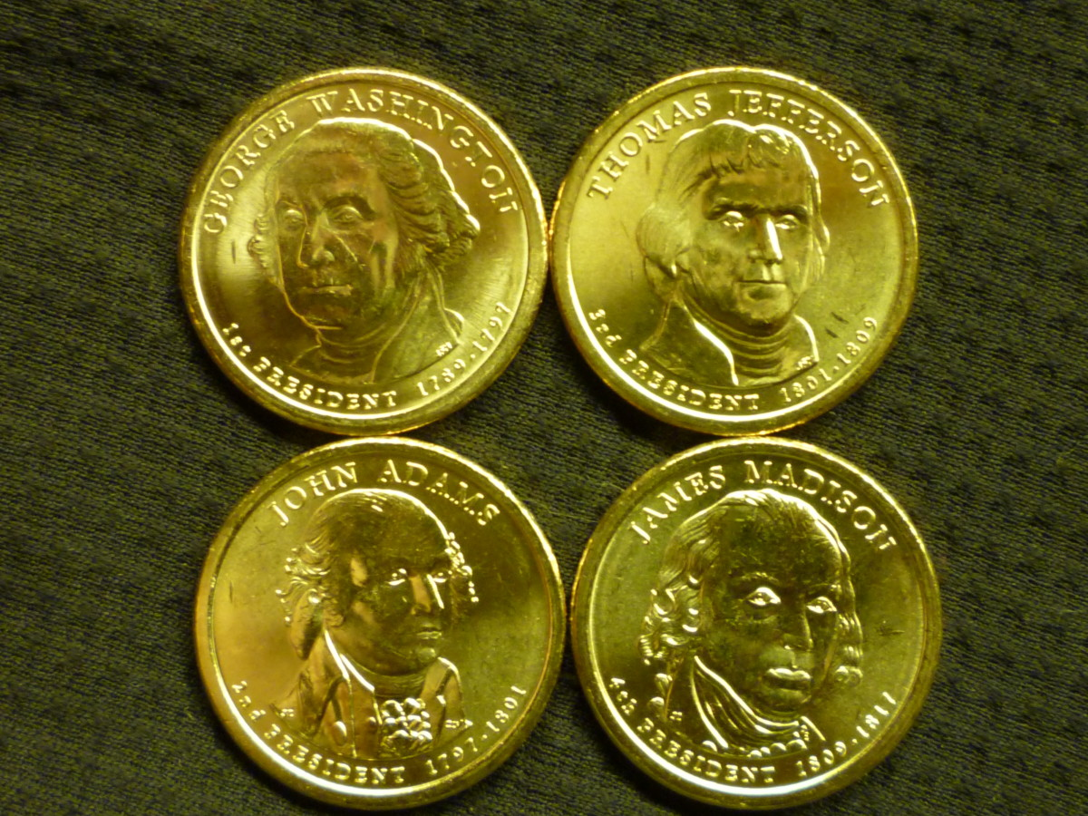 Presidential Dollar Release Dates. Pictured above is the 2007 set of Presidential dollars.