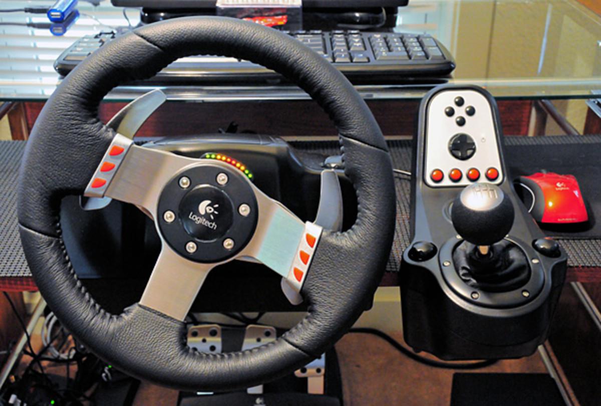 Logitech G27 Racing Wheel Review