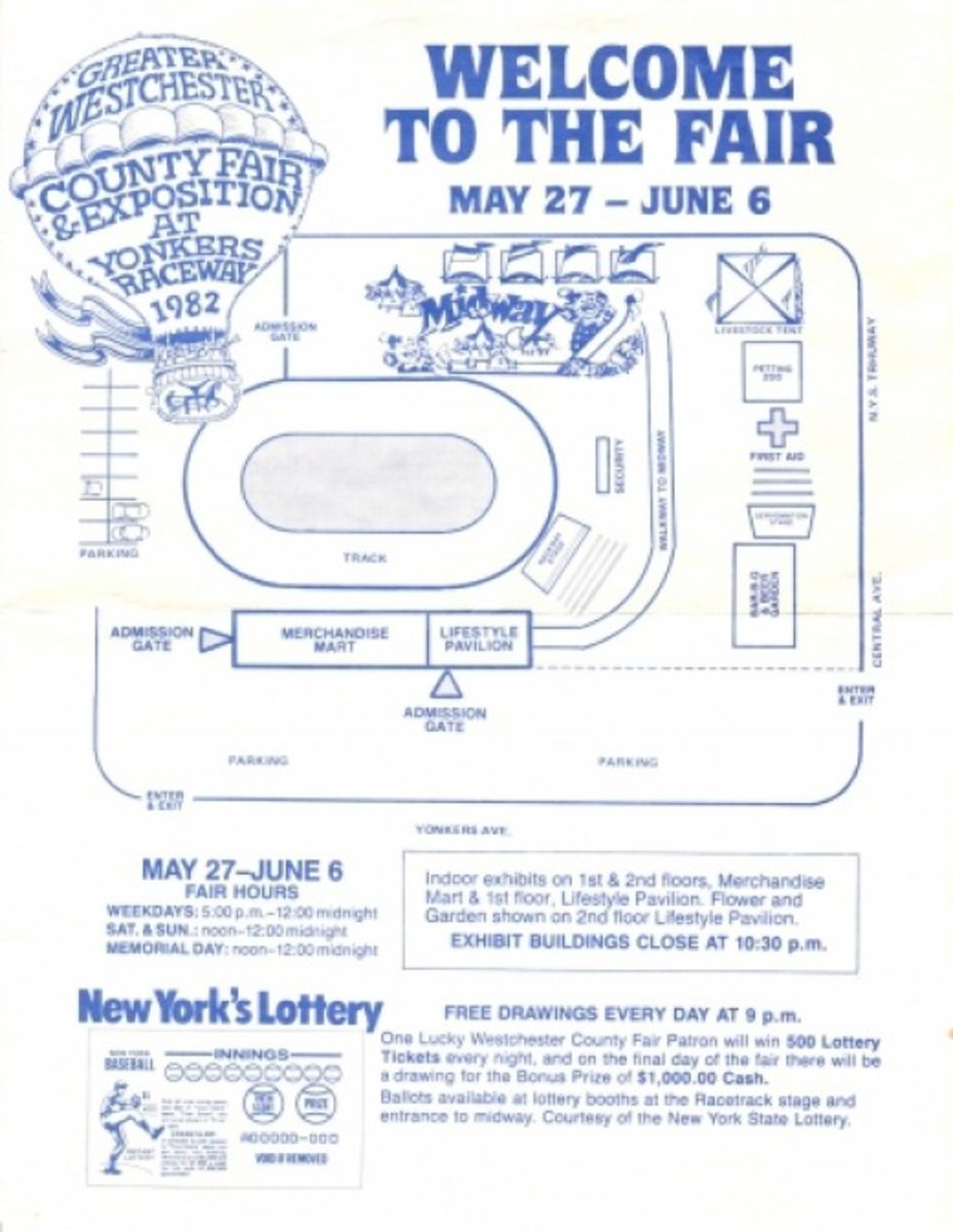 Old Westchester County Fair  'program'