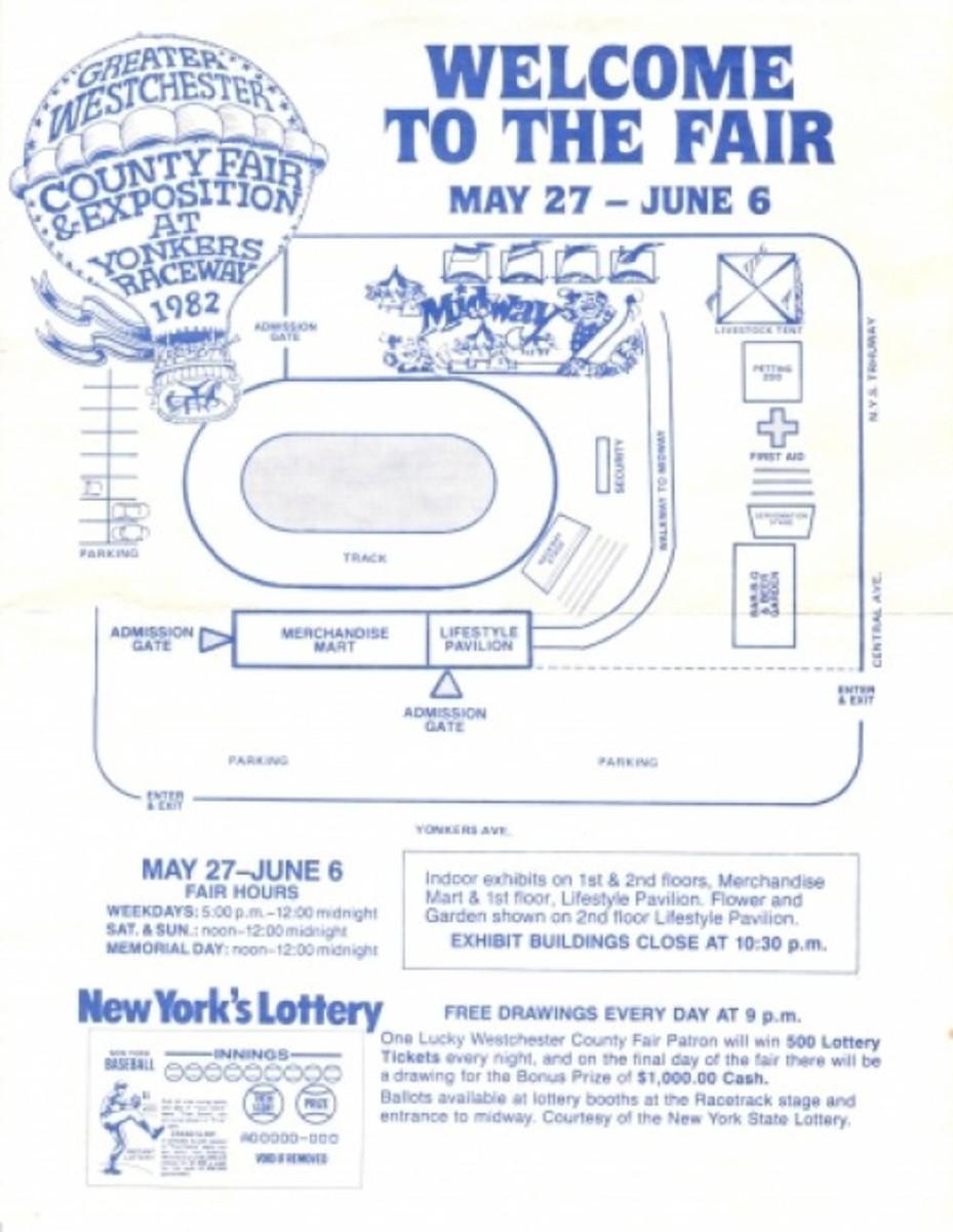 Old Westchester County Fair  'program'