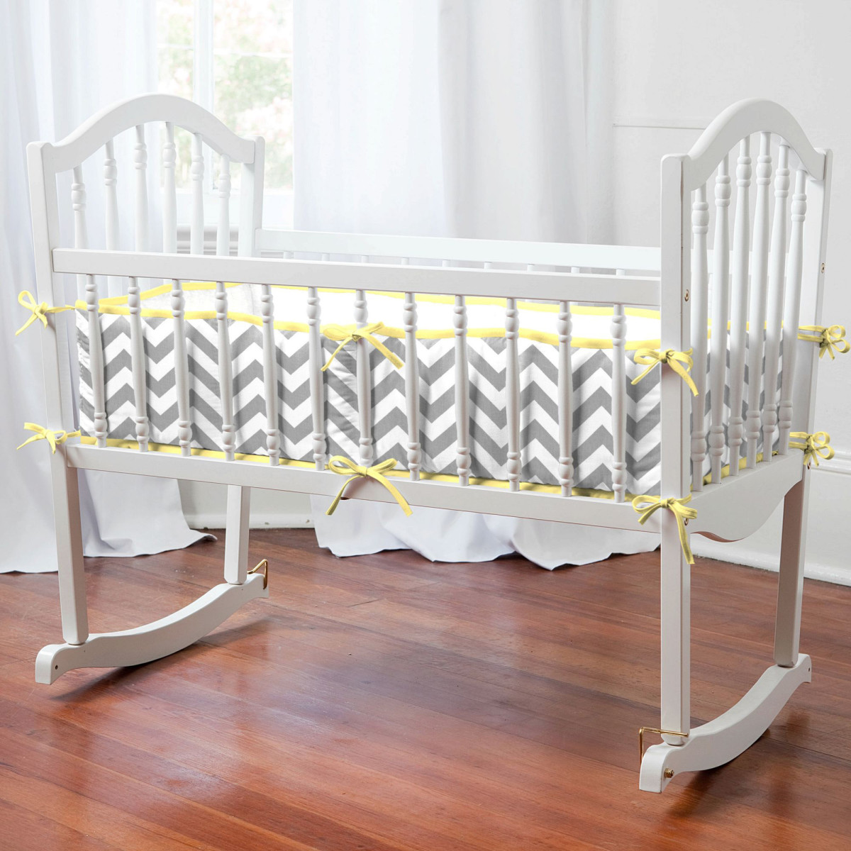 This is a modern cradle, but when I was young and the place where I come from, cradles were a lot simpler, as long as they were large enough safe enough and could be rocked; and a mother was there to sing and rock it.
